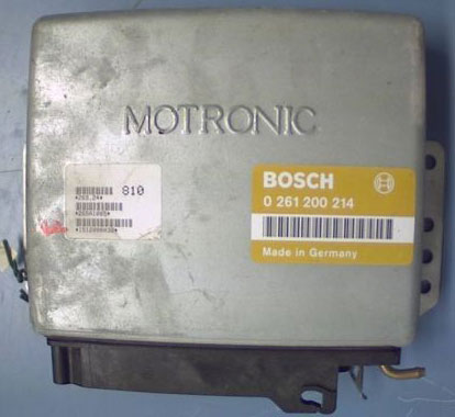 Bosch MP 3.1 Engine ECU Testing