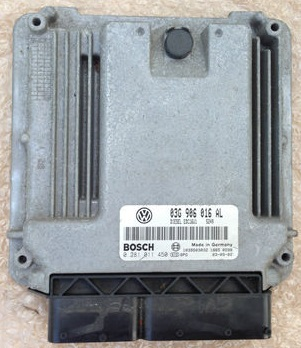 Bosch EDC16U1 Engine ECU Testing