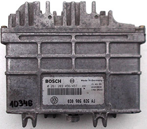 Bosch MA1.3 Engine ECU Testing