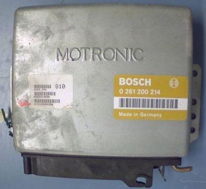Bosch MP3.2 Engine ECU Testing