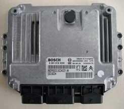 Ford Fiesta Bosch EDC16C34 ECU Testing